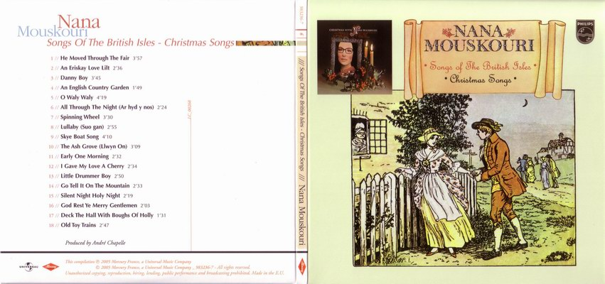 Nana Mouskouri Songs Of The British Isles / Christmas Songs